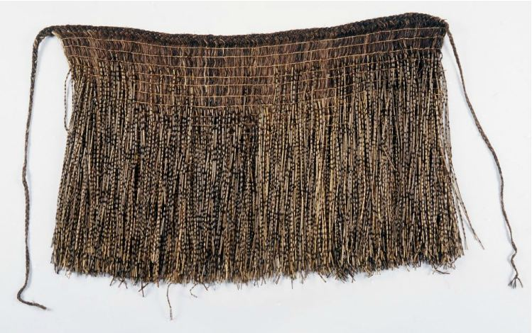 """Traditional woven rāpaki from circa 1850. The archetypal rāpaki from which further types would evolve"" http://collections.tepapa.govt.nz/Object/66505"