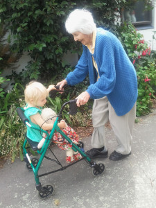 Grannie and Granddaugher
